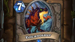 Illustration for article titled Hearthstone's Volcanosaur Launches Early, Causes 24 Hours of Mayhem
