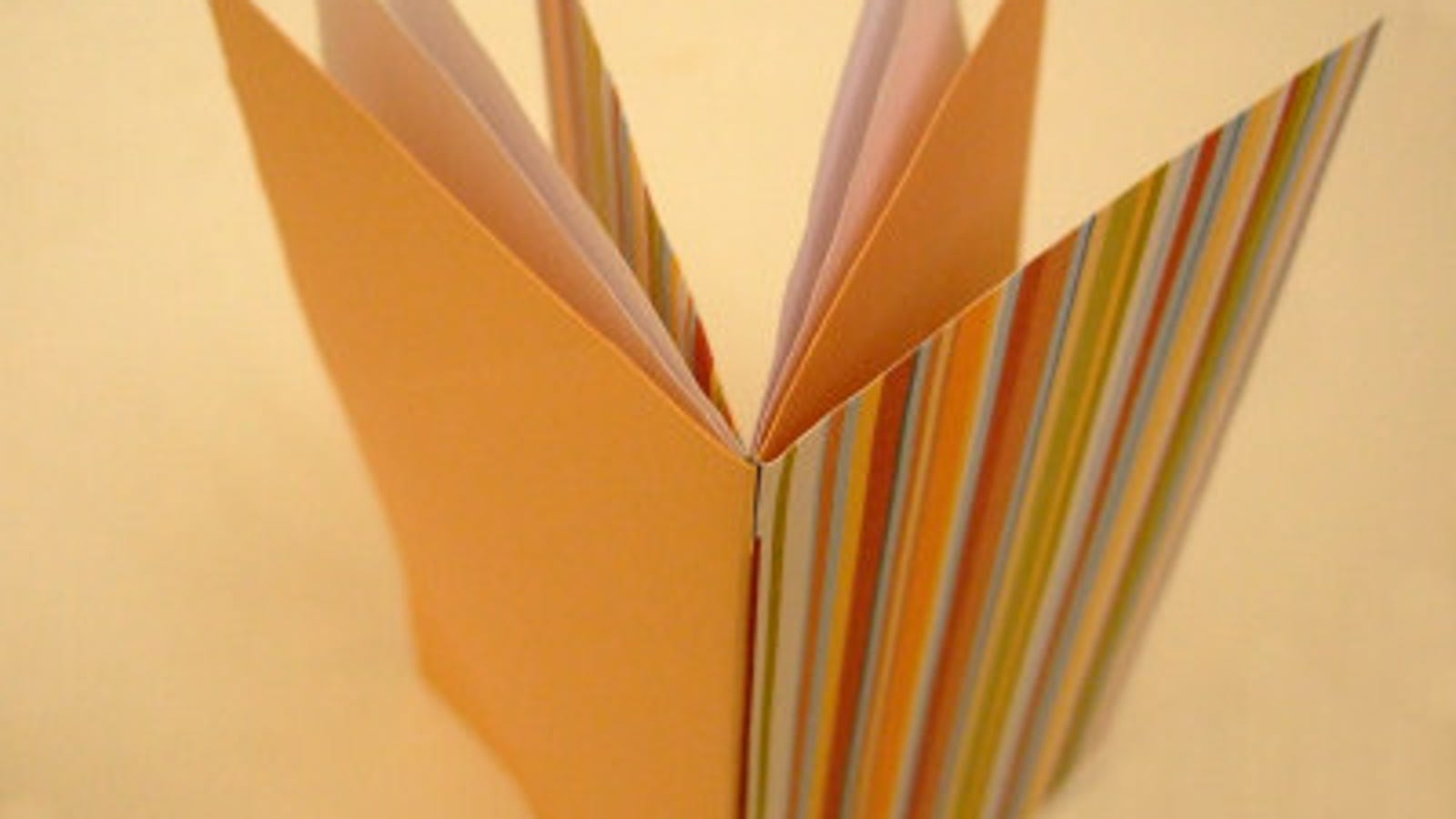 Bind Paper Into A Booklet With Just Some Clever Folds And Cuts