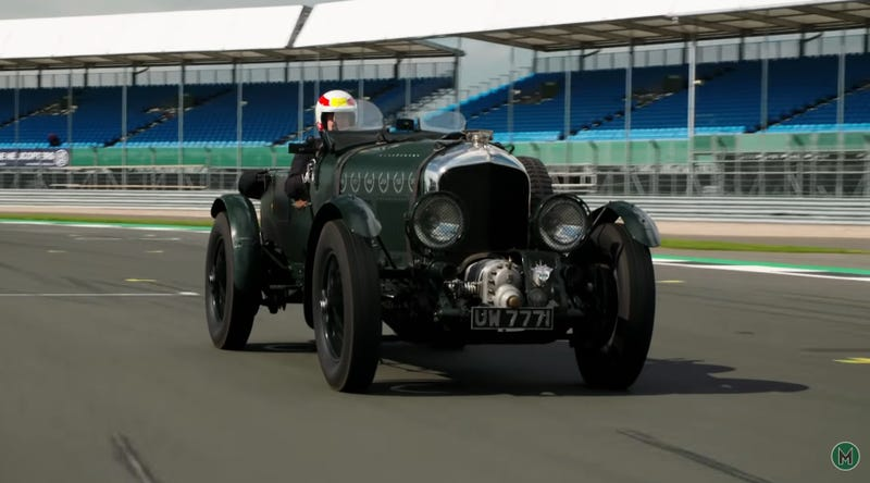 Illustration for article titled Even a Le Mans Winner Isn't Immune to the Charms of a Blower Bentley