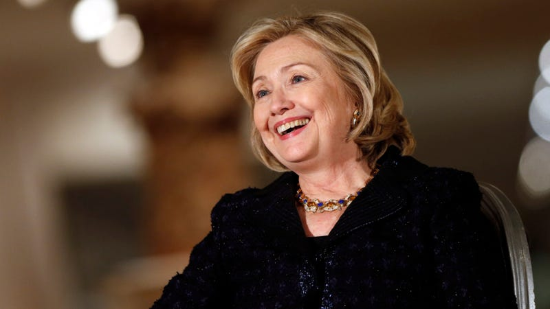 Illustration for article titled Hillary Clinton Has Not Driven A Car Since 1996