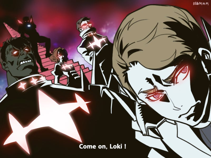 Illustration for article titled Now for Something Totally Different: Avengers la Kill