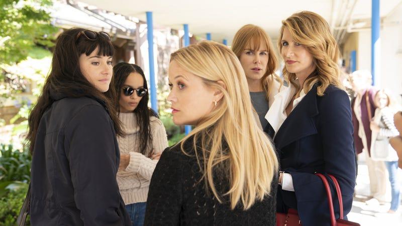 Shailene Woodley, Zoë Kravitz, Reese Witherspoon, Nicole Kidman, and Laura Dern star in Big Little Lies