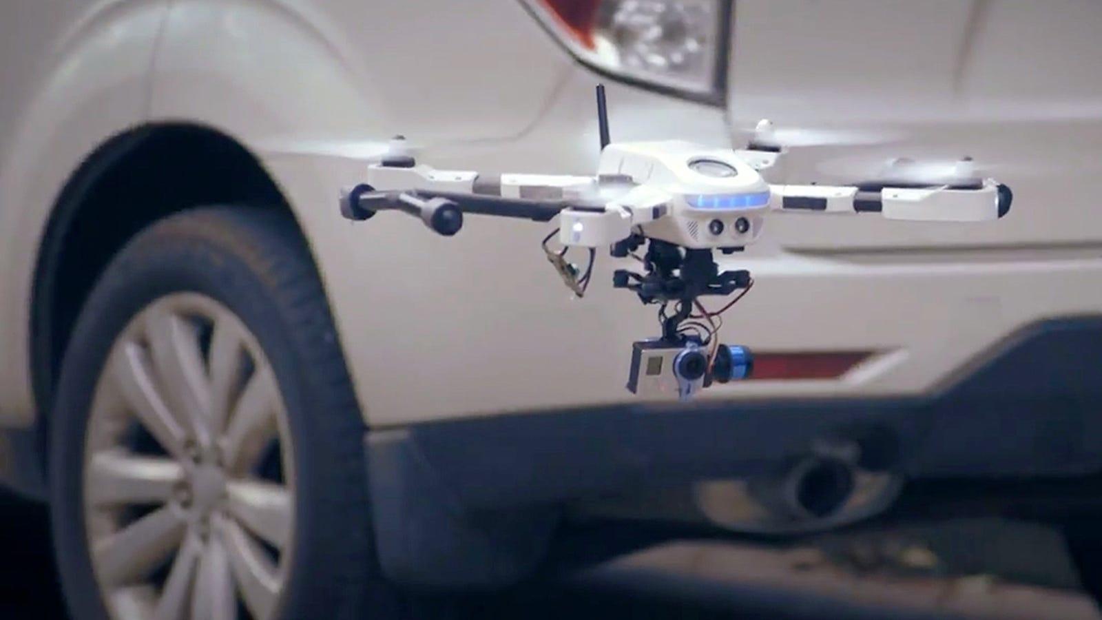 Este dron de fotografía se ensambla por completo como un Lego
