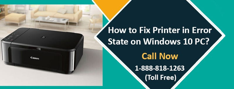 Illustration for article titled How to Fix Printer in Error State Windows 10?