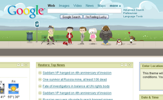 Illustration for article titled Customize your Google homepage with themes