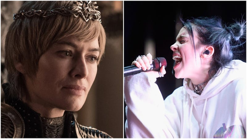 Illustration for article titled Cersei Lannister as a Billie Eilish song is scary good