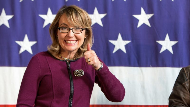 Illustration for article titled Gaby Giffords Gleefully Breaks the Fourth Wall