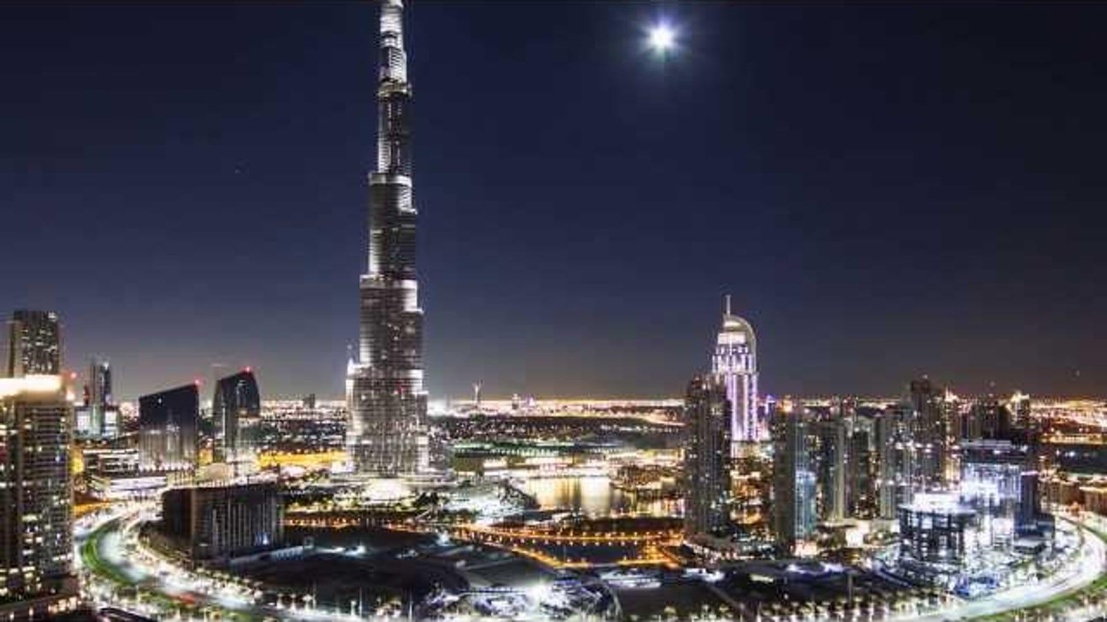 28 horas en dos minutos: el espectacular timelapse de Dubái
