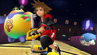 Illustration for article titled Looks Like Kingdom Hearts 3D Comes West in Late July