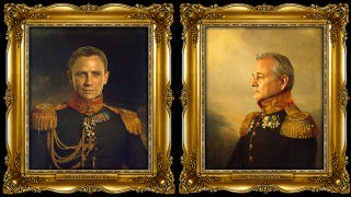 Illustration for article titled Male Actors Photoshopped Onto Bodies Of Russian Generals