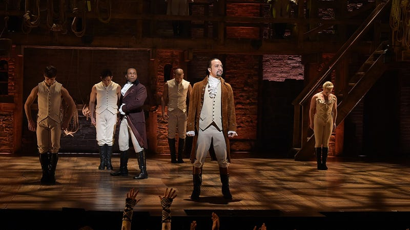 Illustration for article titled In Light of Orlando Shooting,Hamilton Cast Will Not Use Prop Guns During Tony Awards Broadcast