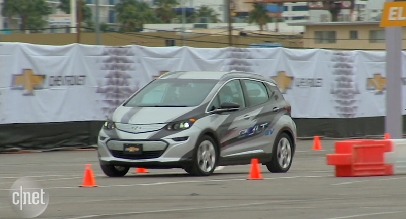 The Electric Chevrolet Bolt This Is It Before Youre Supposed To See It