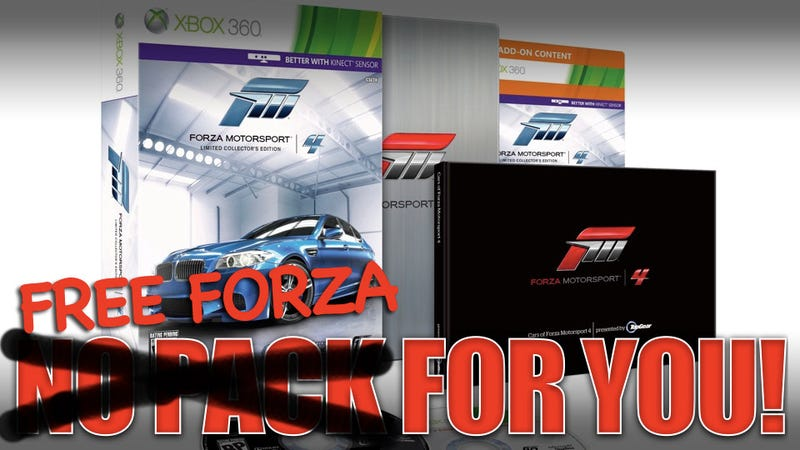 Illustration for article titled Walmart ships free Forza 4 copies after whiffing limited edition
