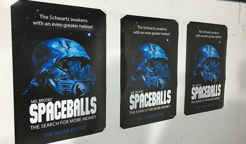 Illustration for article titled This Spaceballs 2 Prank Is Funny But Too Damn Cruel