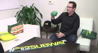 Illustration for article titled The FBI Just Raided Subway Spokesperson Jared Fogle's House