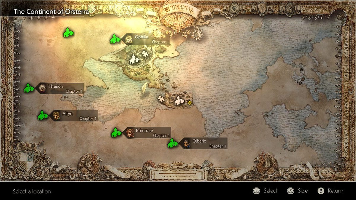 How Octopath Traveler S Structure Actually Works