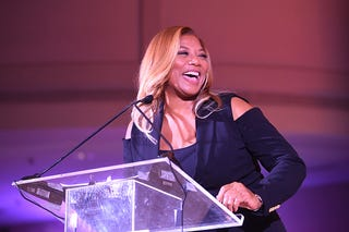 Queen Latifah at 2017 BronzeLens Film Festival Women SuperStars Luncheon at Westin Peachtree Plaza on Aug. 25, 2017, in Atlanta