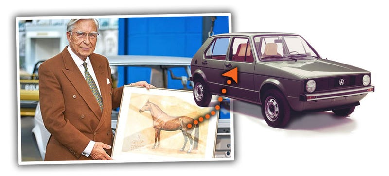 Illustration for article titled Wait. The VW Golf Was Named After A Horse?