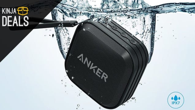 Anker's New Waterproof Bluetooth Speaker Just Got Its First Discount
