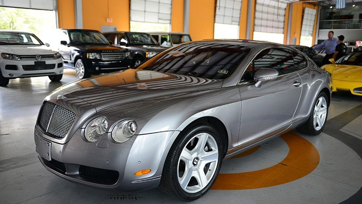 gt bentley infinity in sale hampshire used southampton continental car for