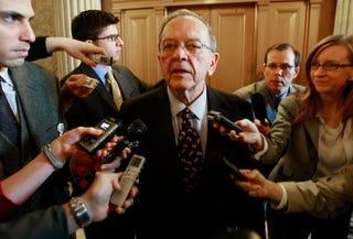Ex-Senator Ted Stevens