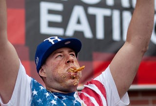 Illustration for article titled Photos From The World Poutine-Eating Championship Will Disgust You