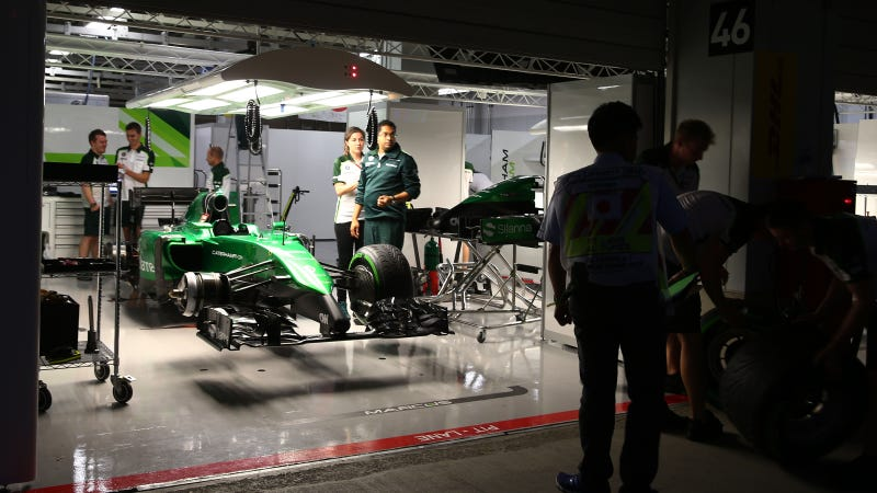 Illustration for article titled Caterham F1 Team Lets 230 Of Its Employees Go