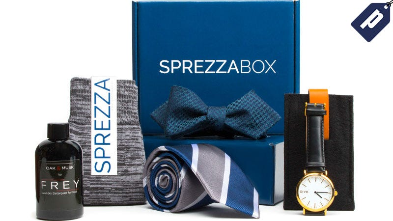Illustration for article titled Buy One Box, Get One Free: Freshly Curated Accessories From SprezzaBox ($28)