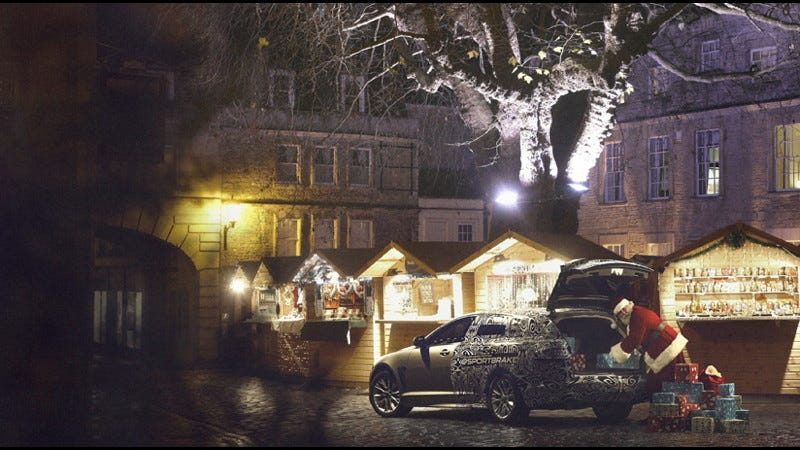 Illustration for article titled Why America deserves a Jaguar wagon for Christmas