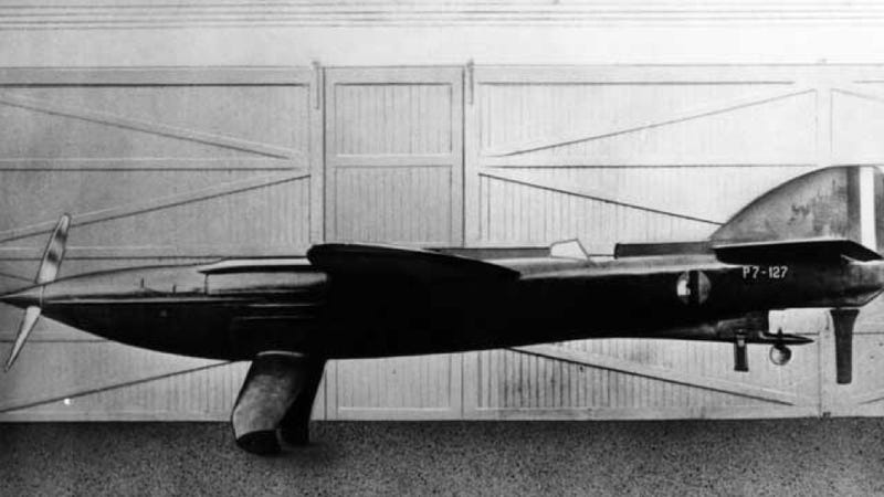 Illustration for article titled This Crazy Bullet Is The Most Beautiful Plane That Never Flew