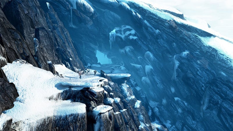 Illustration for article titled Uncharted 2's Digital Ice WIll Be Extremely Nice