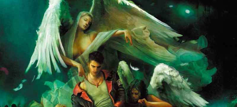 Illustration for article titled 12-Page Preview Of The DmC: Devil May Cry Art Book