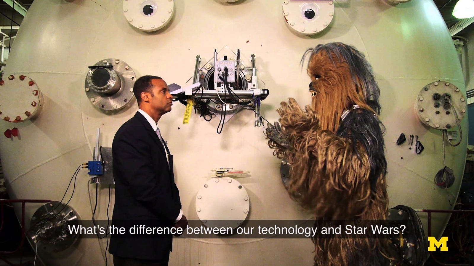 Watch Chewie Interview a Rocket Scientist About Advanced Propulsion Systems