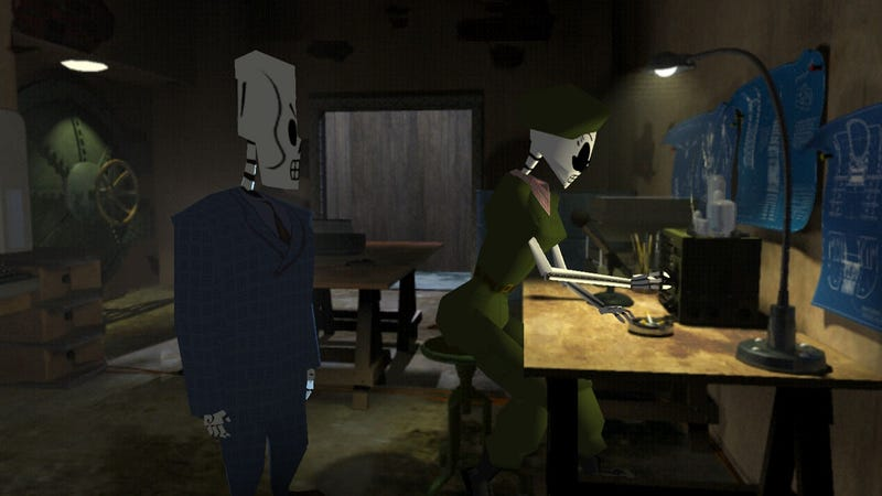 Illustration for article titled Grim Fandango, Dragon Age: Origins Headline January's PS Plus Lineup
