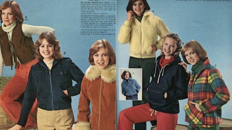 Illustration for article titled Gaze Into the Polyester Soul of the '70s, Via the Fall/Winter 1977 JC Penney Catalog