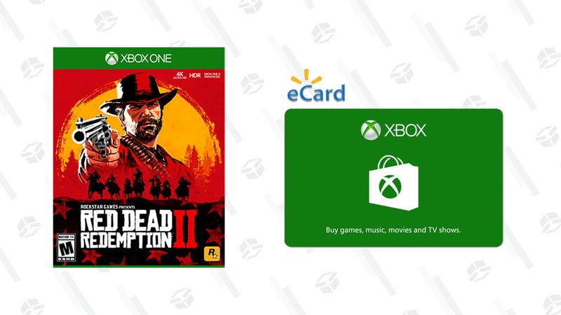 Walmart Will Give You Red Dead Redemption 2 and a $10 Xbox One Gift