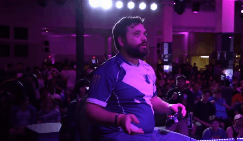 Spectator Throws Dead Crab At Super Smash Bros. Tournament Winner