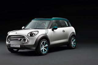 Illustration for article titled Mini Reveals Crossover Concept, Takes Brand Off-Road For First Time