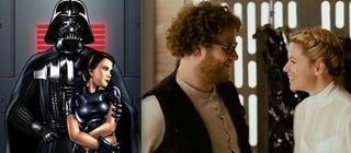 Illustration for article titled Seth Rogen's Fake Star Wars Porn Versus Actual Star Wars Porn [NSFW]