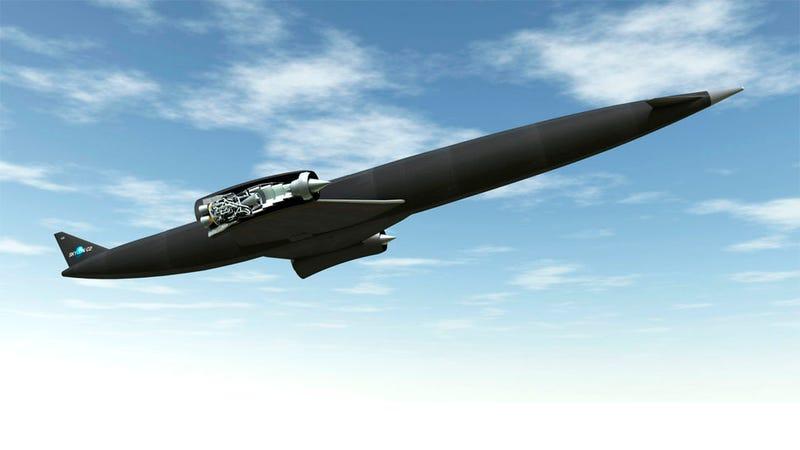Illustration for article titled Este avión hipersónico británico puede revolucionar la aviación
