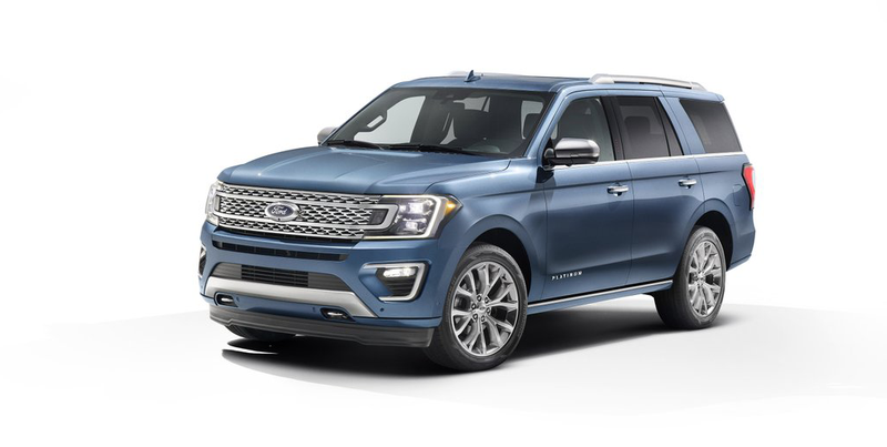 Illustration for article titled Here's What The New 2018 Ford Expedition Looks Like