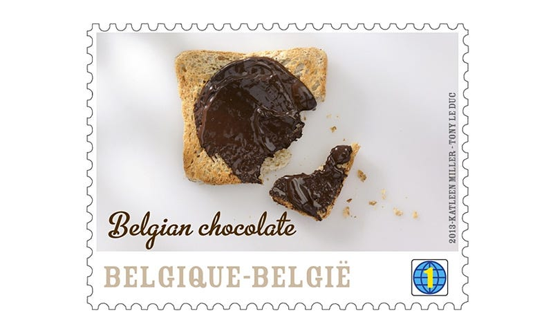 Illustration for article titled The US Postal Service Could Easily Turn Things Around With Belgian Chocolate-Flavored Stamps