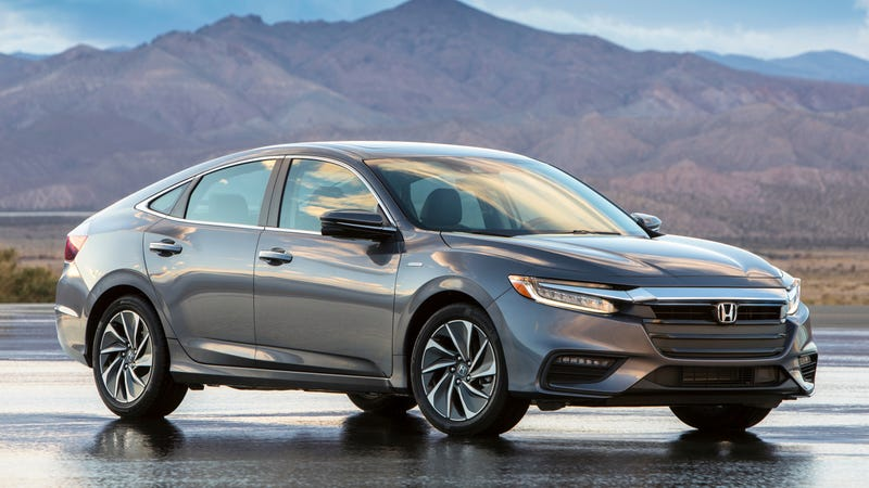 Ilration For Article Led The 2019 Honda Insight Looks Wver But Gets 55 Mpg In
