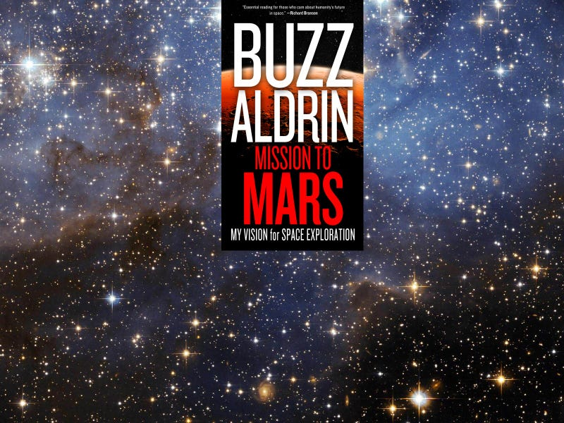 """Illustration for article titled I'm Currently Reading Buzz Aldrin's """"Mission to Mars"""""""
