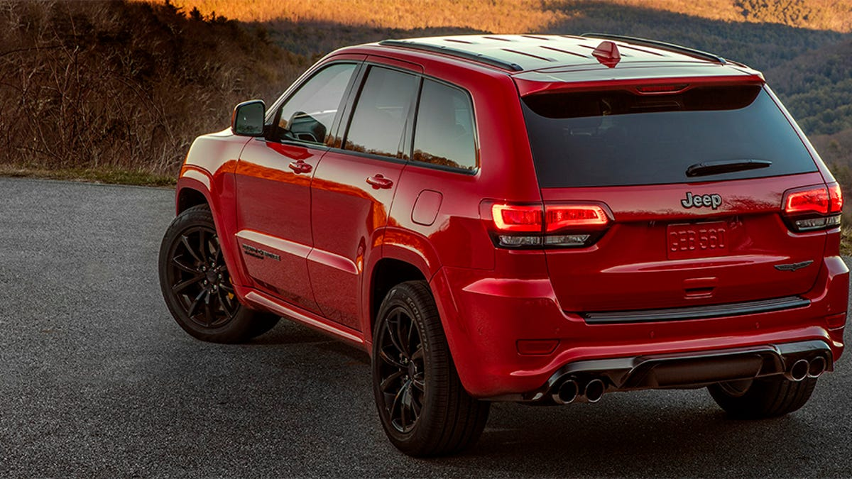 The Hellcat Ed 2018 Jeep Trackhawk Is Quicker 0 60 Than Alfa Giulia