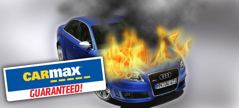 Illustration for article titled The Craziest Unreliable Cars You Can Get With a CarMax Warranty