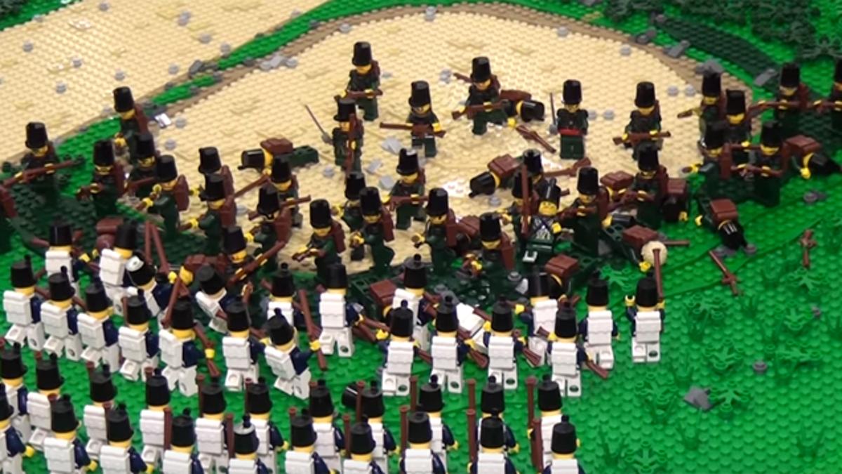 Lego Napoleonic Soldiers