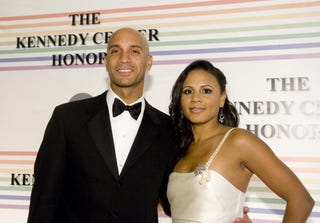 Adrian and Michelle Fenty at the Kennedy Center in Washington, D.C., Dec. 2009.(Kris Connor/Getty Images)