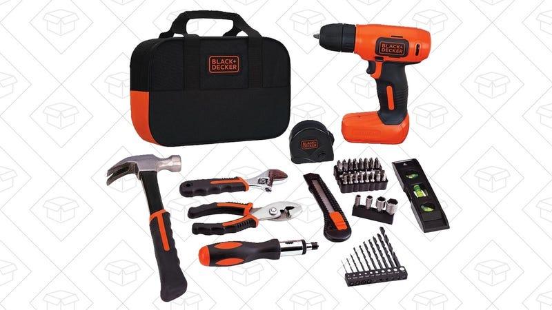 Black & Decker Drill Project Kit, $40