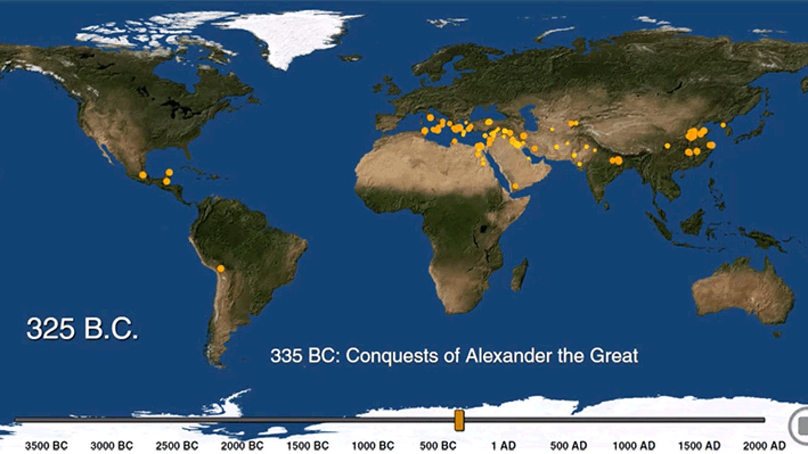 See the Exact Moment the World's Biggest Cities Were Born